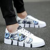 夏季男鞋潮鞋帆布鞋男生低帮韩版潮流休闲小白色板鞋百搭学生布鞋