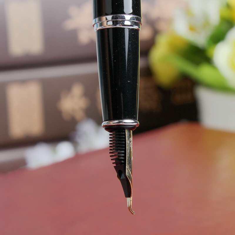 包邮英雄6055弯尖美工钢笔书法绘画速写手绘瘦金体书写铱金笔
