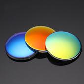 1.56非球面定制炫彩高清偏光近视太阳镜片树脂墨镜带度数 2片价