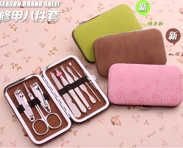 个人 6件套 美容精装工具 指甲刀 指甲钳套装 用具清洁