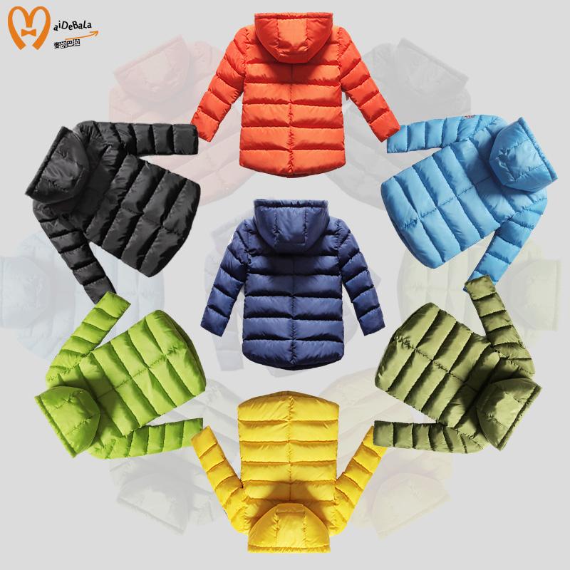 男童加厚外套儿童 中长款棉衣女童棉服冬季2015新款 棉袄童装冬装