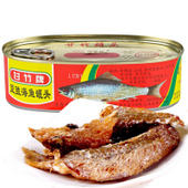 【天猫超市】甘竹牌豆豉海鱼罐头184g/盒下饭菜 特产小吃休闲食品