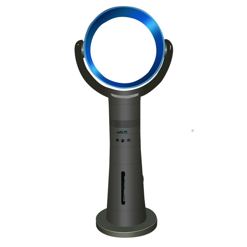 康浩無葉風扇加濕器電扇超靜音落地扇遙控定時電風扇負離子無葉扇
