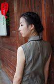 【嘉木】原创 盘扣2014秋女新款 高档 进口面料 中式 背心裙