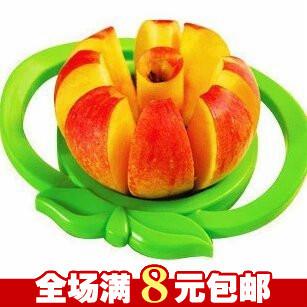 9.9包邮大号优质多功能不锈钢切果器 苹果切片器苹果切果器