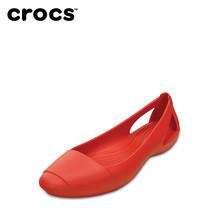 仙安娜休闲女平底鞋 202811 凉鞋 卡骆驰女鞋 Crocs卡骆驰户外女鞋
