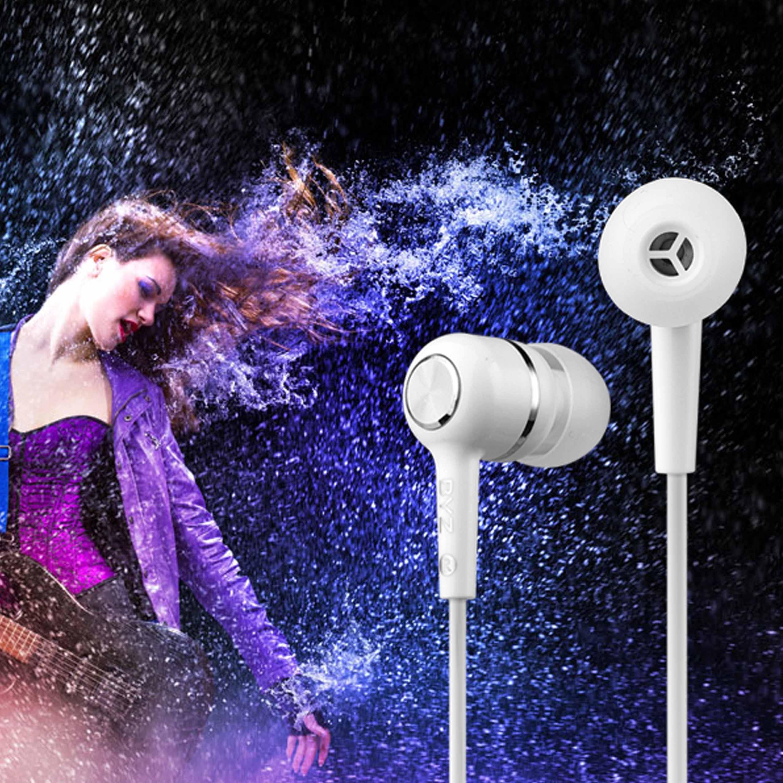 线控重耳塞入耳低音 音带运动电脑手机耳机