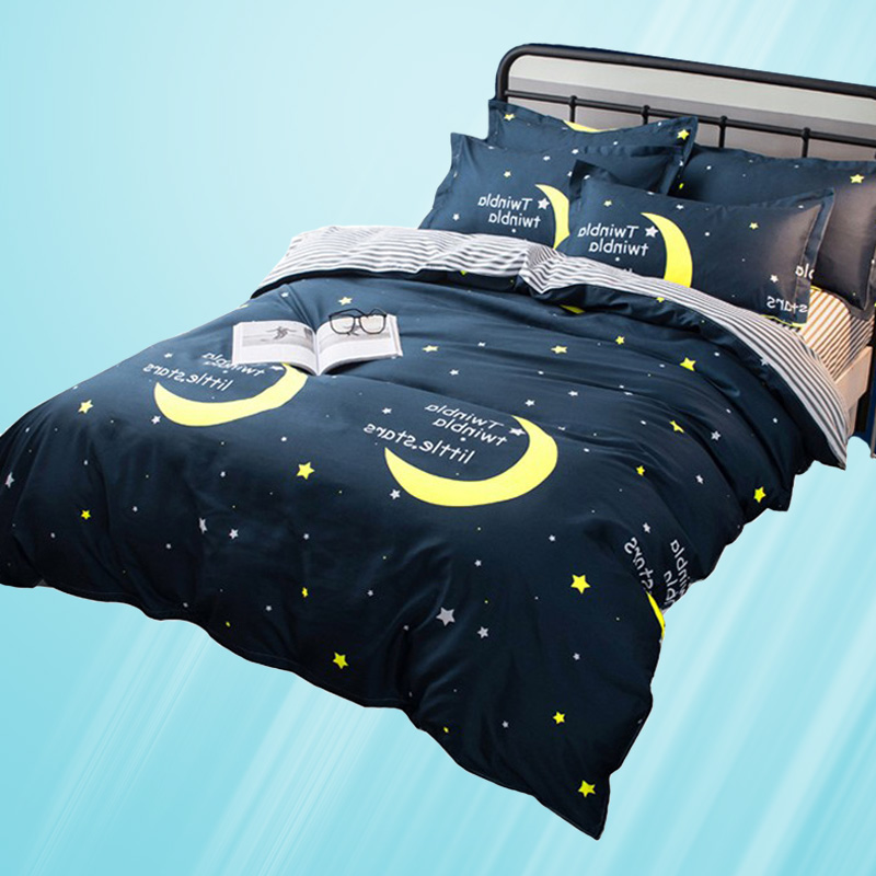 学生单人卡通儿童床单被套双人四件套床品