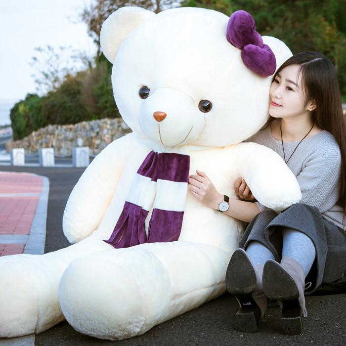 大号毛绒玩具熊1.6米公仔布娃娃大熊泰迪熊生日礼物女生熊猫玩偶