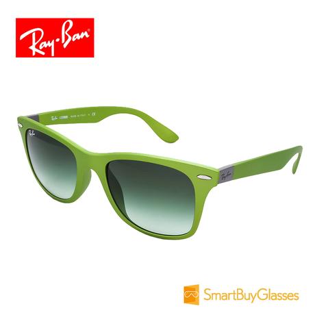 Ray Ban雷朋太阳镜 帅气方框男士墨镜 亚洲款太阳眼镜 RB4195F商品大图