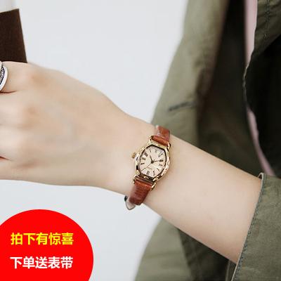 包邮正品韩国julius聚利时小巧知性时尚OL复古时装韩版女手表女表