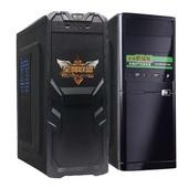 台式机箱装 走背线碳黑五金 大中小主板 ATX大机箱 全新电脑主机箱