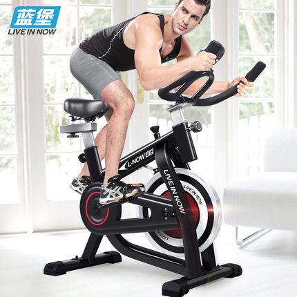 蓝堡健身车家用健身房单车怎么样