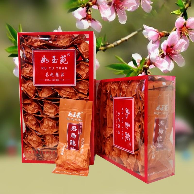 1送2买黑乌龙茶茶叶油切黑乌龙茶如玉苑