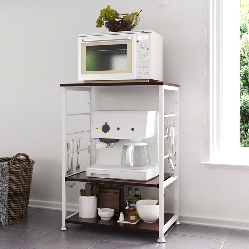 创意厨房置物架微波炉架子多层架多功能厨房电器储物架收纳