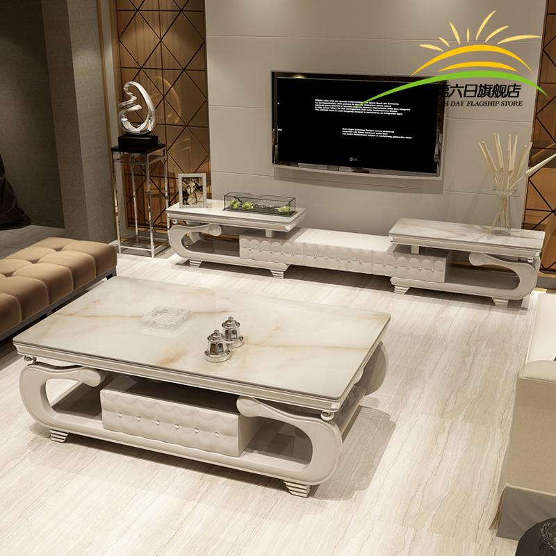 优质大理石电视柜价格款式展示