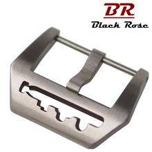 BlackRose手表表扣不锈钢针扣表带扣子适合沛纳海表带扣手表配件