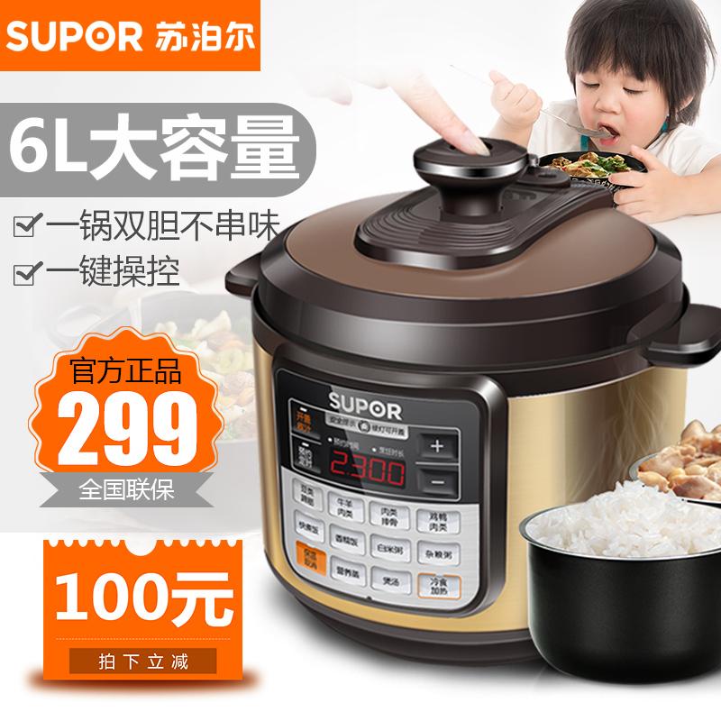 cysb60ycw10d-110电压力锅双胆6l智能家用煲汤饭煲