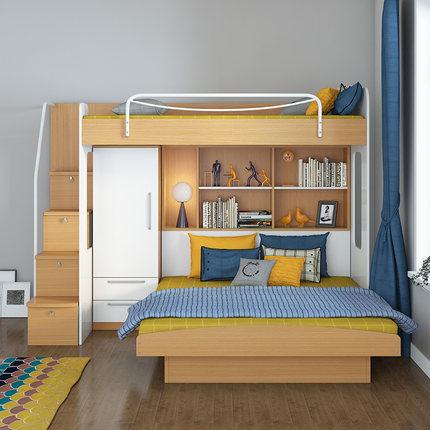 达维德儿童实木高低床怎么样,使用感受