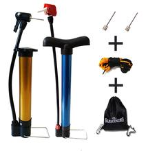 足球排球皮球包气针 自行车篮球打气筒便携式充气打汽筒加游泳圈