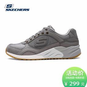 Skechers斯凯奇春季新款时尚复古跑鞋女 拼接透气运动鞋9999598