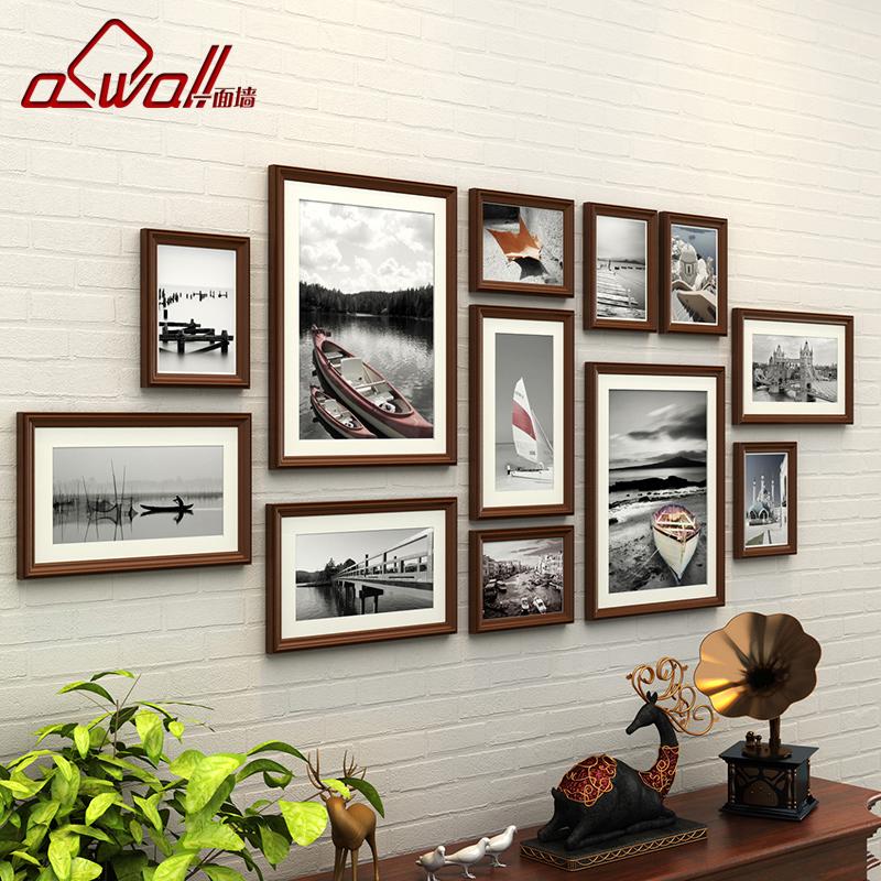 欧式实木照片墙相框墙客厅卧室相片墙创意