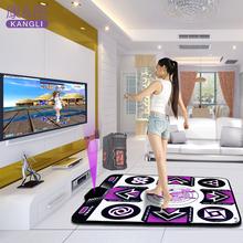 包邮 康丽中文版跳舞毯单人电脑加厚无线感应瑜伽健身操减肥跳舞机