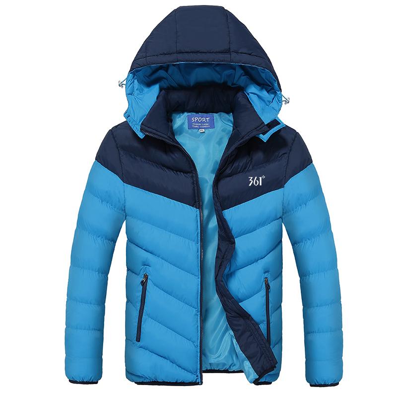 保暖修身羽绒学生外套棉袄冬天棉服男青少年加厚冬季棉衣