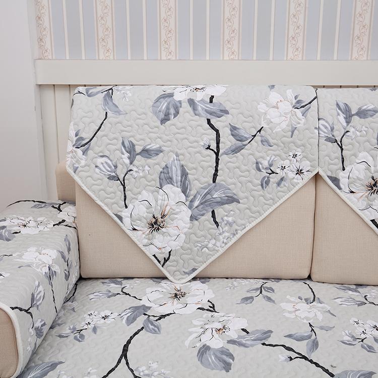 全棉斜纹沙发垫布艺 简约现代欧式组合沙发坐垫