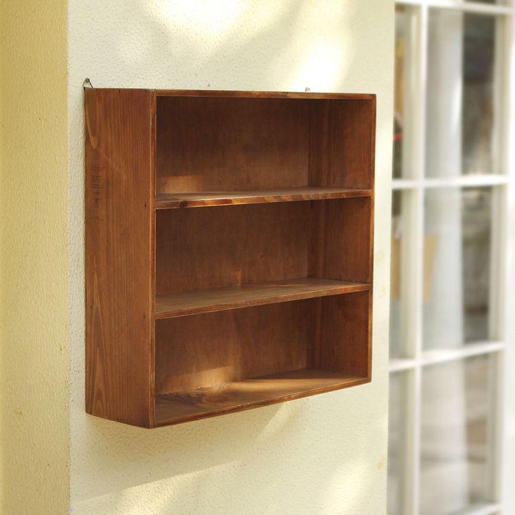 木质创意多层桌面收纳盒化妆品实木置物架柜杂物办公