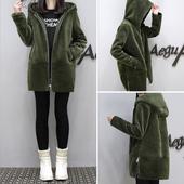 欧洲站棉服女装冬装2016新款潮中长款显瘦棉袄女羊羔毛外套韩版