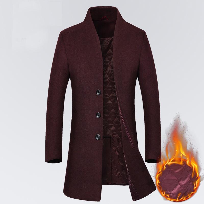 秋冬装新正品英伦修身羊毛呢大衣男中长款外套呢子风衣韩版尼大衣