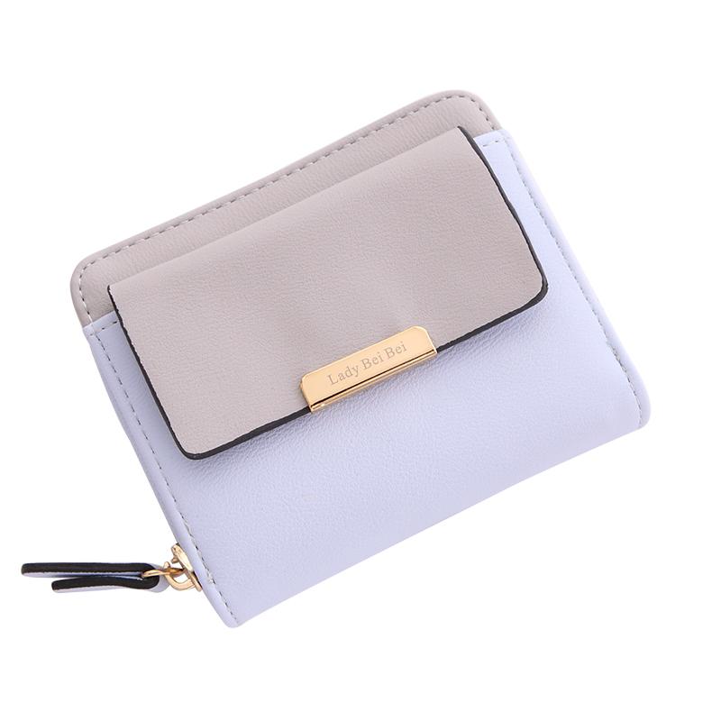 小款钱包女2017新款折叠迷你钱包女短款小巧零钱位多功能大容量