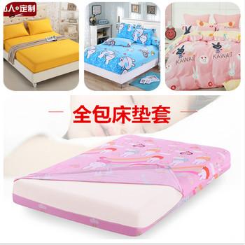 全棉儿童卡通1.2床笠单件纯棉床