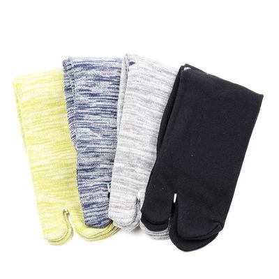 两指袜男日式袜子日本分趾袜棉袜短袜低帮短筒秋冬透气木屐袜夹脚