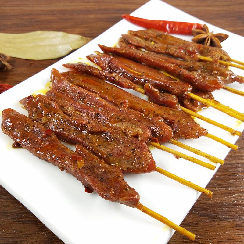 和翔芷江鸭肉串10gx30袋 湖南特产香辣鸭肉零食办公休闲小吃特辣