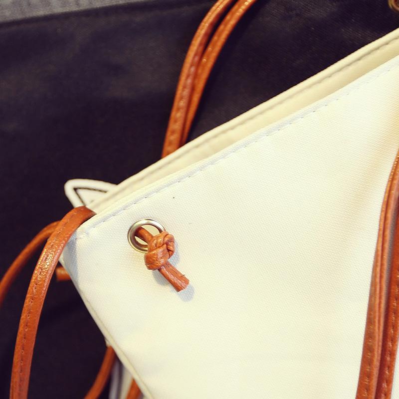 韩版帆布包女包单肩包韩国学生文艺小清新简约卡通休闲手提斜挎包