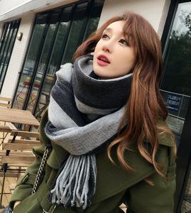 围巾女秋冬季新款2016韩版学生百搭披肩加厚长款韩国围脖针织毛线