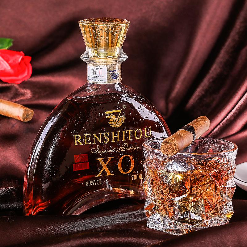【新品特惠】法国原装进口洋酒XO经典白兰地烈酒700ML礼盒装包邮