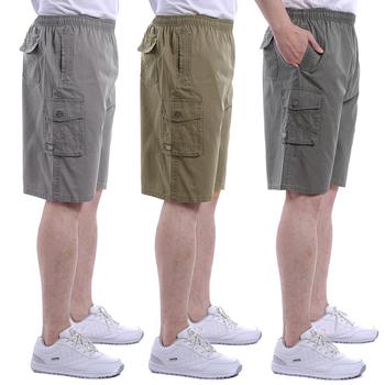 中年男士短裤老人沙滩裤夏天五分
