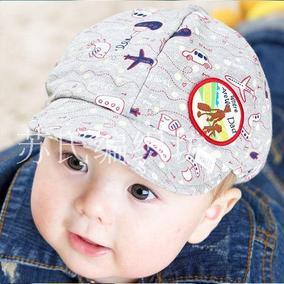 宝宝鸭舌帽子秋冬季保暖棒球帽韩版胎儿纯棉帽男女贝雷帽特价包邮