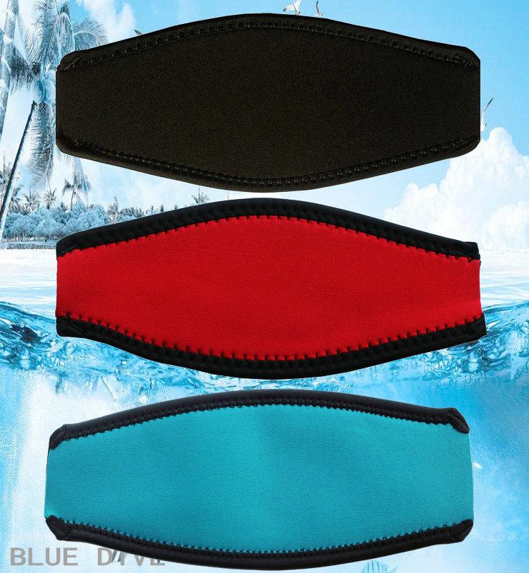 通用潜水罩绑带潜水面镜 保护套护发带 双层面镜带浮潜专用面罩带