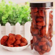 250克罐装零食草莓干蜜饯草莓果脯办公室休闲4罐包邮