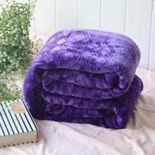 5元清仓!法兰绒毛毯午休毯办公室午睡毯加厚珊瑚绒毯小毛毯被子