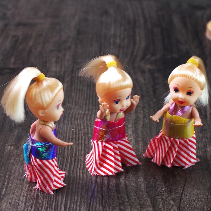 迷你可爱女孩仿真小凯丽芭比娃娃小公主 梦幻换装娃娃