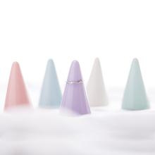 家用创意陶瓷纯色戒指展示架戒指架托 日式简约锥形首饰架收纳架