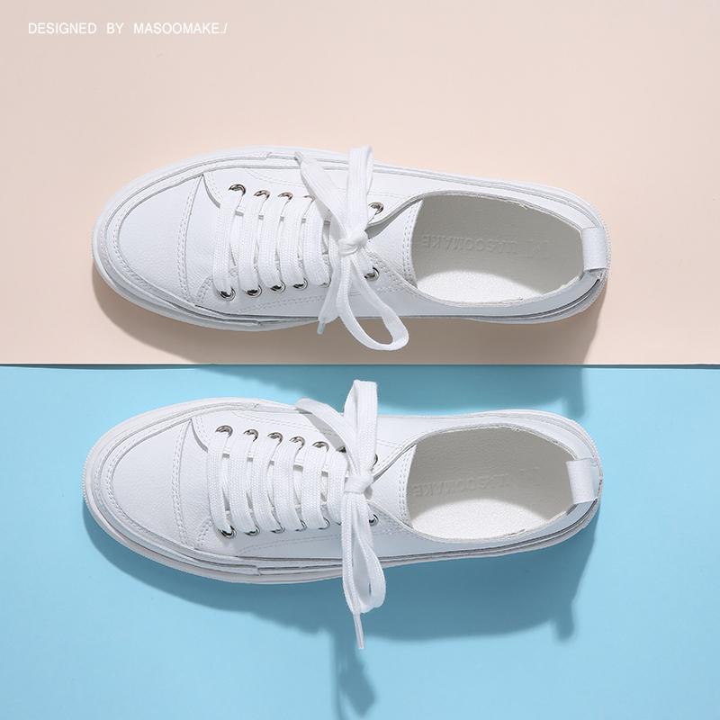 子女休闲春季系带运动鞋 小白鞋女女鞋