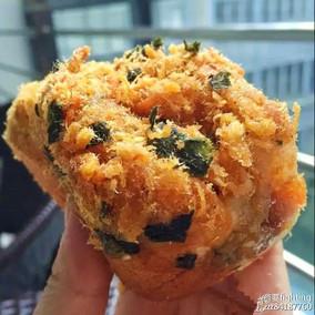 南京千里酥 海苔肉松小贝 爆浆肉松贝贝 三块装 肉松蛋糕零食