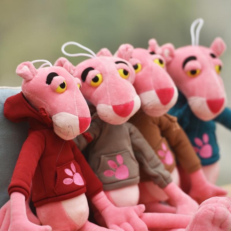 可爱粉红顽皮豹公仔达浪毛绒玩具布娃娃生日礼物儿童粉红豹玩偶女
