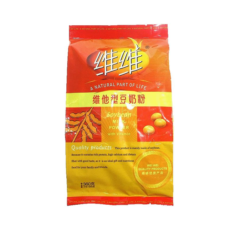 维维 维他型豆奶粉 360g 内含小包营养早餐欢乐开怀